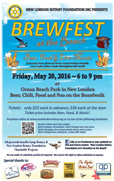 Brewfest at the Beach, Friday May 20th 6-9am at Ocean Beach
